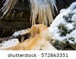 icefall | Shutterstock . vector #572863351