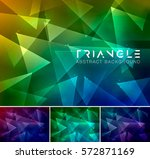 triangle abstract background....