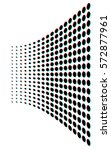 abstract vector dotted... | Shutterstock .eps vector #572877961
