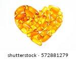 Heart Shape Of Fish Oil  Soft...