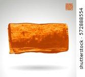 brush stroke and texture.... | Shutterstock .eps vector #572888554