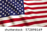 usa american flag background... | Shutterstock . vector #572898169