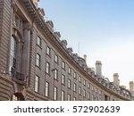 regent street crescent  famous... | Shutterstock . vector #572902639