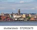 view of birkenhead skyline... | Shutterstock . vector #572902675