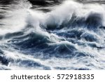 Giant Waves In Storm Day...