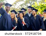 education  graduation ... | Shutterstock . vector #572918734