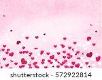 happy valentine's day | Shutterstock . vector #572922814