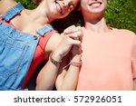 love and people concept   close ...   Shutterstock . vector #572926051