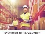 wholesale  logistic  people and ... | Shutterstock . vector #572929894