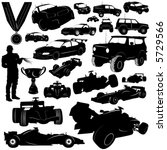 formula and automobile sports... | Shutterstock .eps vector #5729566