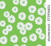 floral seamless pattern with... | Shutterstock .eps vector #572956831