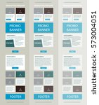 corporate vector layout... | Shutterstock .eps vector #573004051
