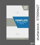 flyer concept brochure template ...   Shutterstock .eps vector #573004627