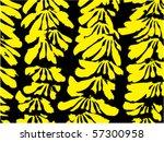 bunch of bananas | Shutterstock .eps vector #57300958