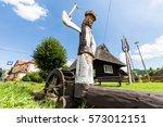 podbiel  slovakia   august 2 ... | Shutterstock . vector #573012151