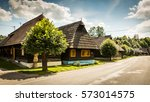 podbiel  slovakia   august 2 ...   Shutterstock . vector #573014575