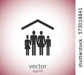 family icon | Shutterstock .eps vector #573018841