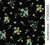 seamless floral pattern in... | Shutterstock .eps vector #573020251