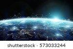 data exchange and global... | Shutterstock . vector #573033244