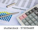 business concept   financial... | Shutterstock . vector #573056689