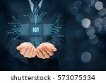 internet of things  iot ... | Shutterstock . vector #573075334