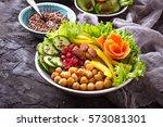 Buddha Bowl. Healthy Vegetaria...