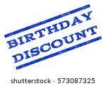 birthday discount watermark... | Shutterstock .eps vector #573087325