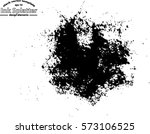 abstract black ink splash... | Shutterstock .eps vector #573106525