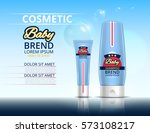 cosmetic set for the baby.... | Shutterstock .eps vector #573108217