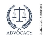 legal center or advocacy... | Shutterstock .eps vector #573108889