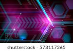 abstract futuristic background...   Shutterstock . vector #573117265