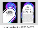 abstract vector layout... | Shutterstock .eps vector #573134575