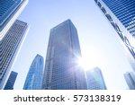 business skyscrapers | Shutterstock . vector #573138319