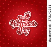 valentines day | Shutterstock .eps vector #573142381