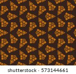 geometric shape abstract vector ... | Shutterstock .eps vector #573144661