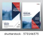 layout template elements ... | Shutterstock .eps vector #573146575