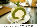 Delicious Sweet Green Tea Roll...