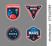 Set Of Mars Space Mission...