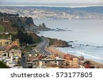 south america  chile  2009  the ... | Shutterstock . vector #573177805