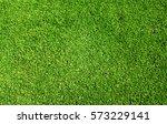 green grass soccer field... | Shutterstock . vector #573229141