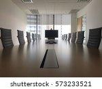 interior of modern meeting room ... | Shutterstock . vector #573233521