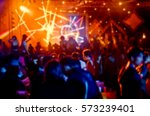 blur night club have party. | Shutterstock . vector #573239401