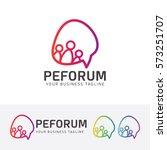 Forum Logo Design. Talk  Bubble ...