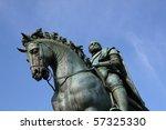 statue of cosimo medici | Shutterstock . vector #57325330