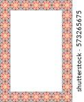vector frame for diploma or... | Shutterstock .eps vector #573265675