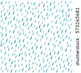 the pattern of rain drops... | Shutterstock .eps vector #573265681
