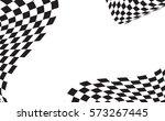 checkered racing flag isolated