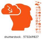 brainstorming icon with bonus...   Shutterstock .eps vector #573269827