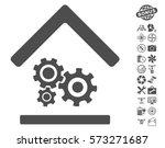 workshop icon with bonus... | Shutterstock .eps vector #573271687