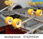 Small photo of Ribbed Wobble Rollers at Trailer For Boat